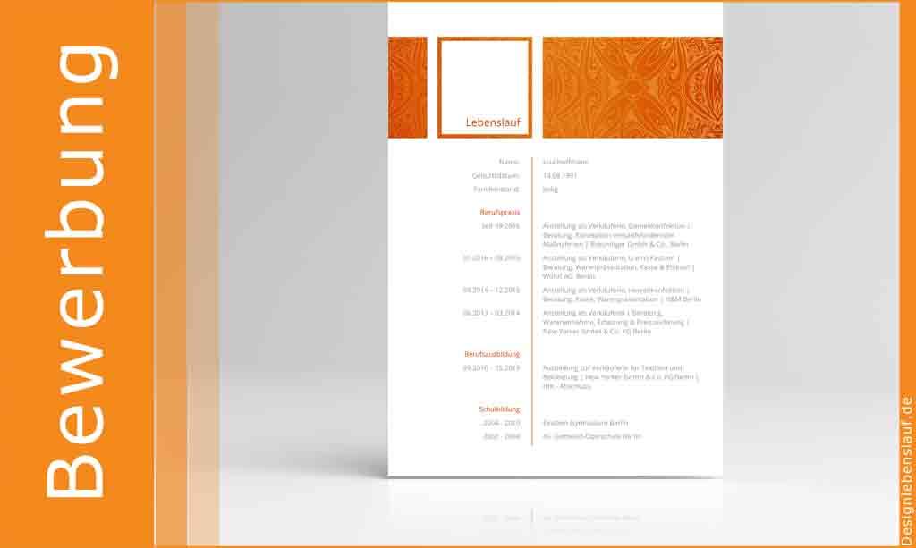 Bewerbungs Deckblatt Mit Anschreiben Lebenslauf Download