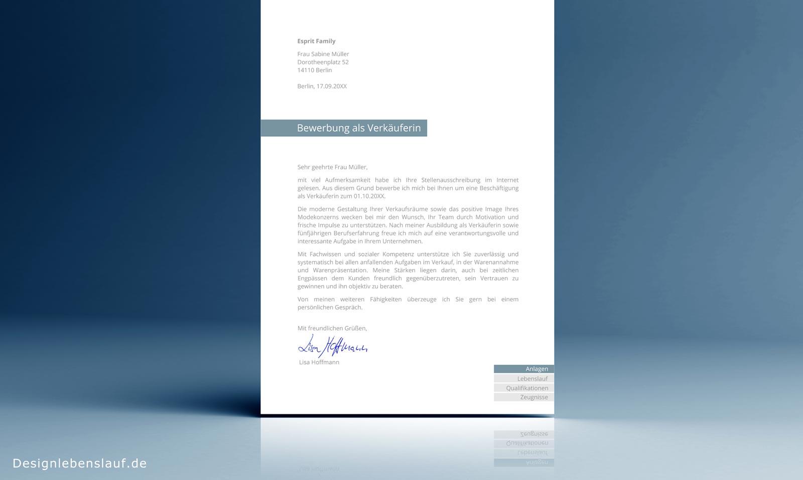 Gehaltsvorstellung Bewerbung Anschreiben Vorlage als Download