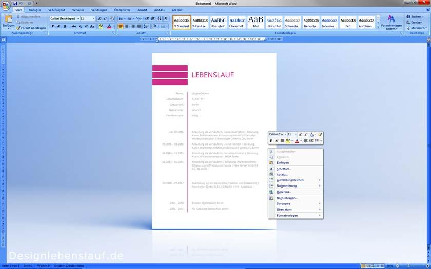 Einleitungssatz Bewerbung Als Dateivorlage Zum Download