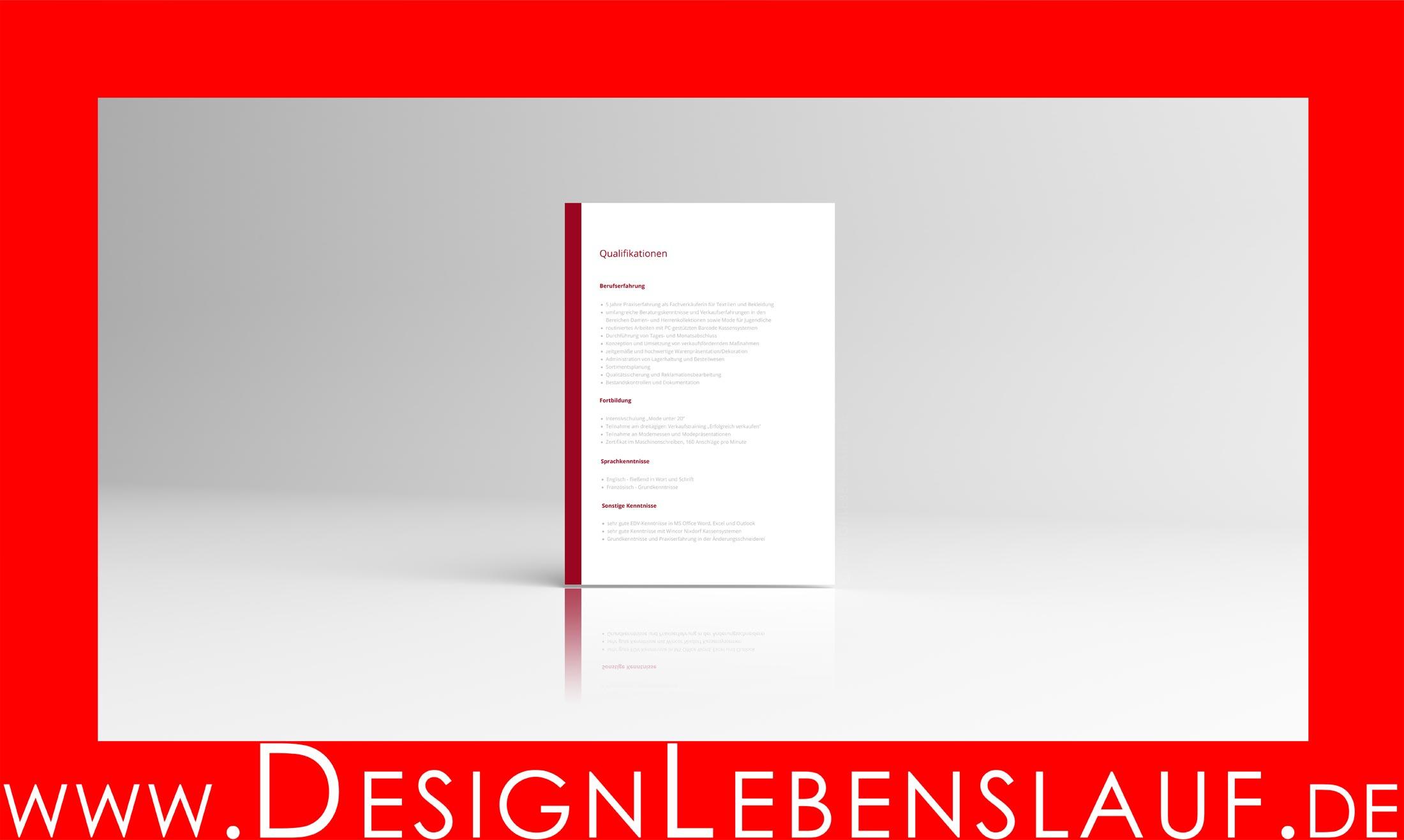 Perfekter Lebenslauf Zum Download Für Word Open Office