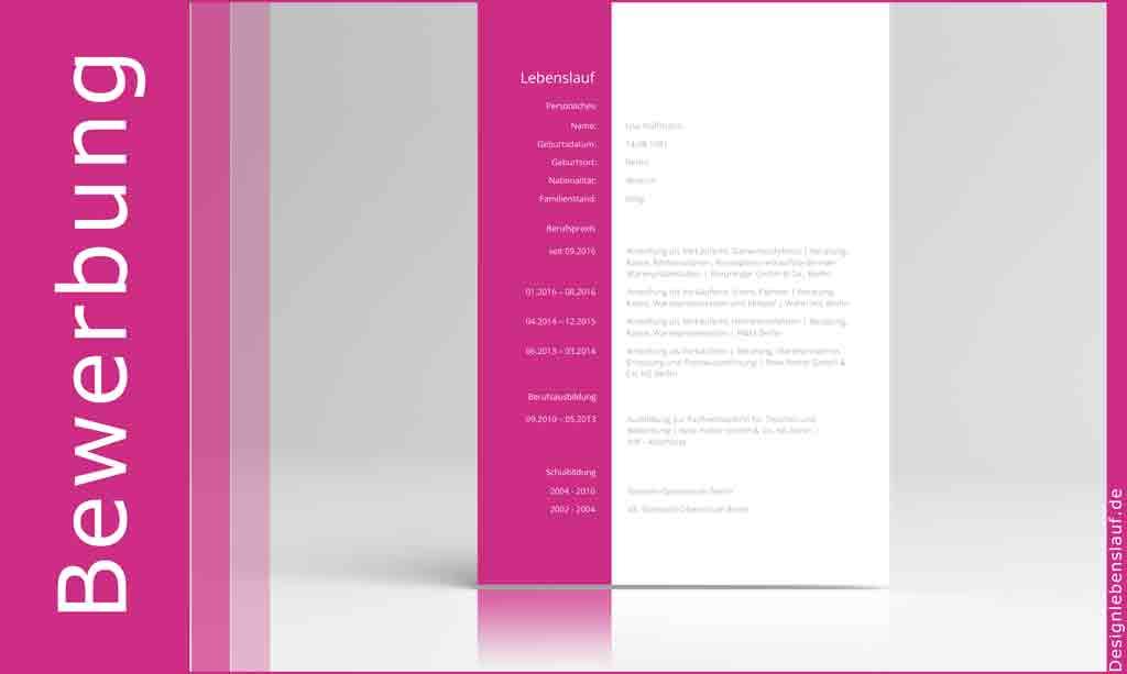 Bewerbung schreiben Muster für Word, WPS Office, OpenOffice