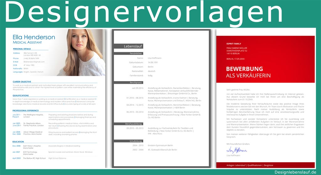 bewerbung 3. seite muster