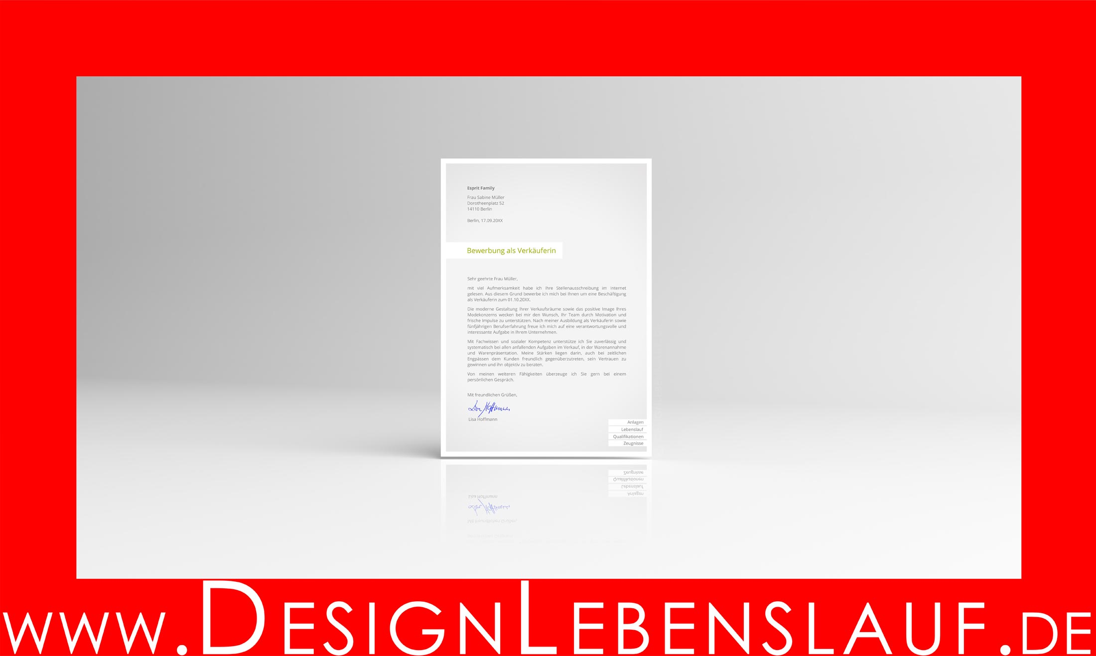 Bewerbung Vorlage Vom Designer Für Word Freie Office Software