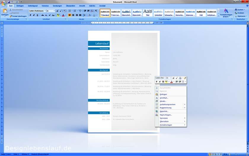 Wie Schreibe Ich Eine Bewerbung   Bewerbungsvorlagen Download