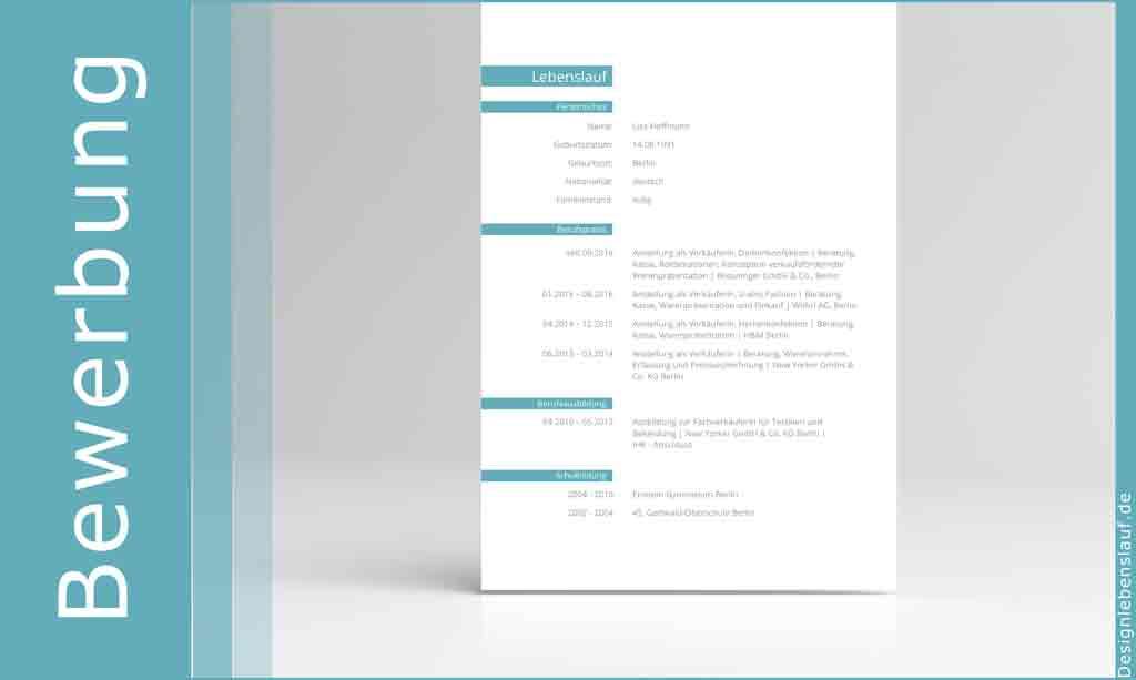 Online Bewerbung Anschreiben mit Lebenslauf und Deckblatt