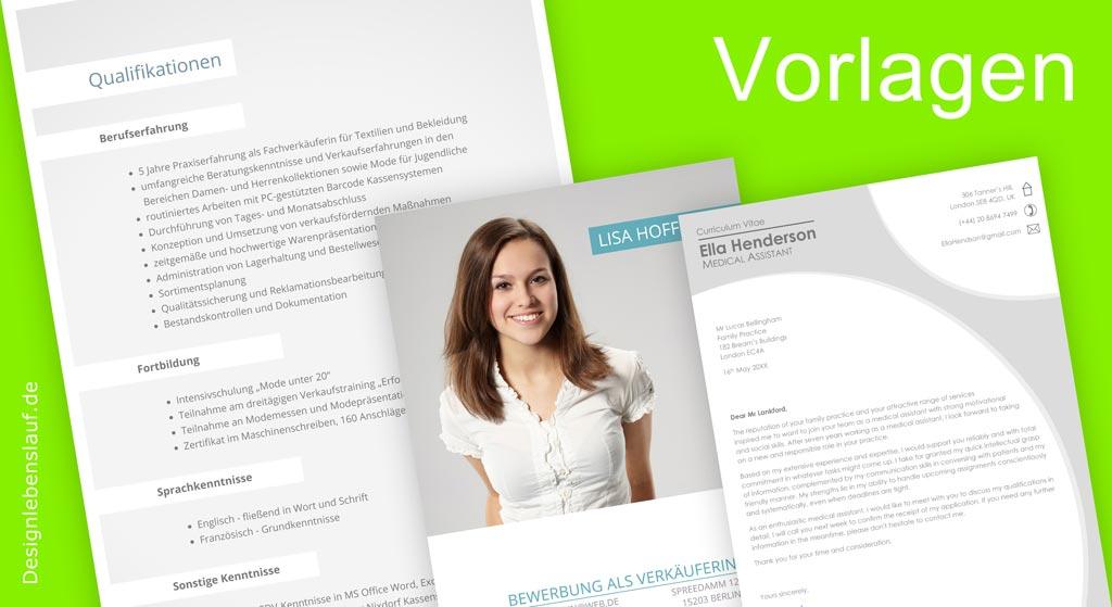 Bewerbung - Anschreiben - Muster Von Designlebenslauf.De