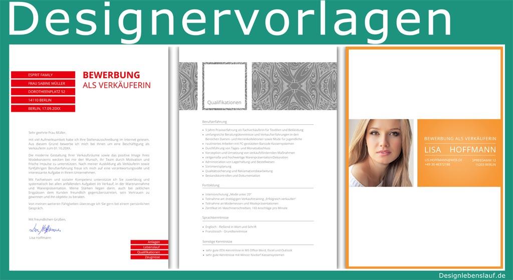 Deckblatt Bewerbung Mit Anschreiben & Lebenslauf Zum Download