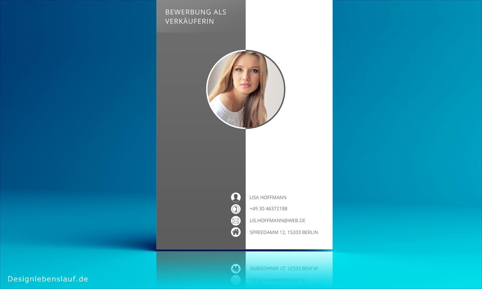 Online bewerben mit bewerbungsvorlagen vom designer for Interior design ausbildung schweiz