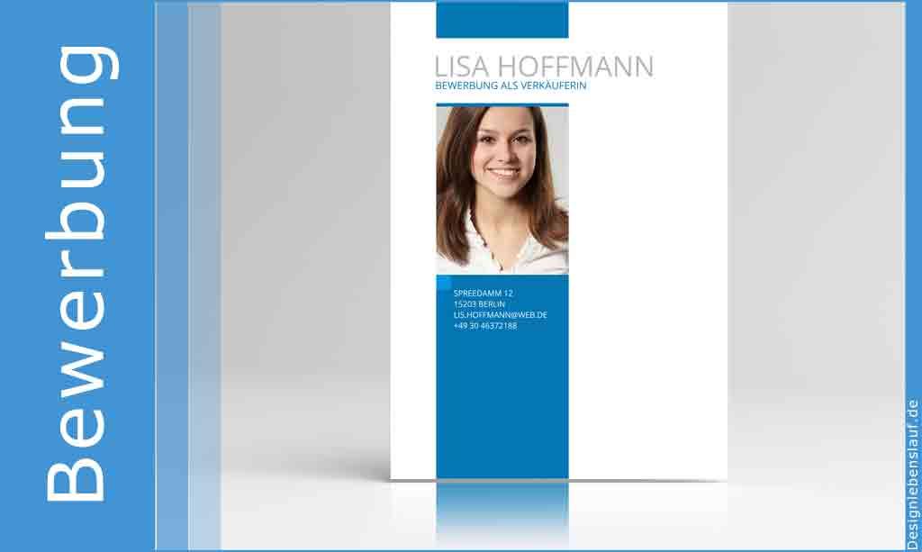 Bewerbung Deckblatt Vorlage Mit Lebenslauf Und Anschreiben