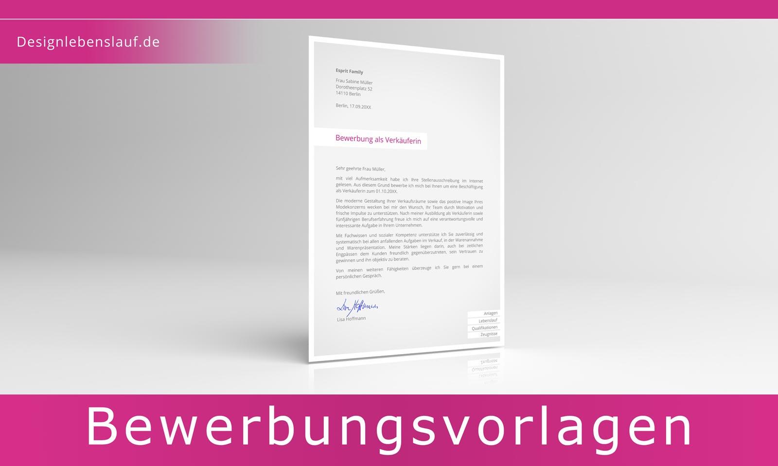 wordscreendeckblatt bewerbungsschreiben fuer eine schule ...