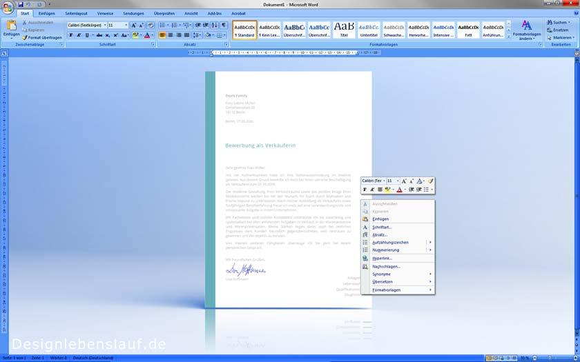 Bewerbungen Schreiben Einfach Und Schnell Mit Designvorlagen