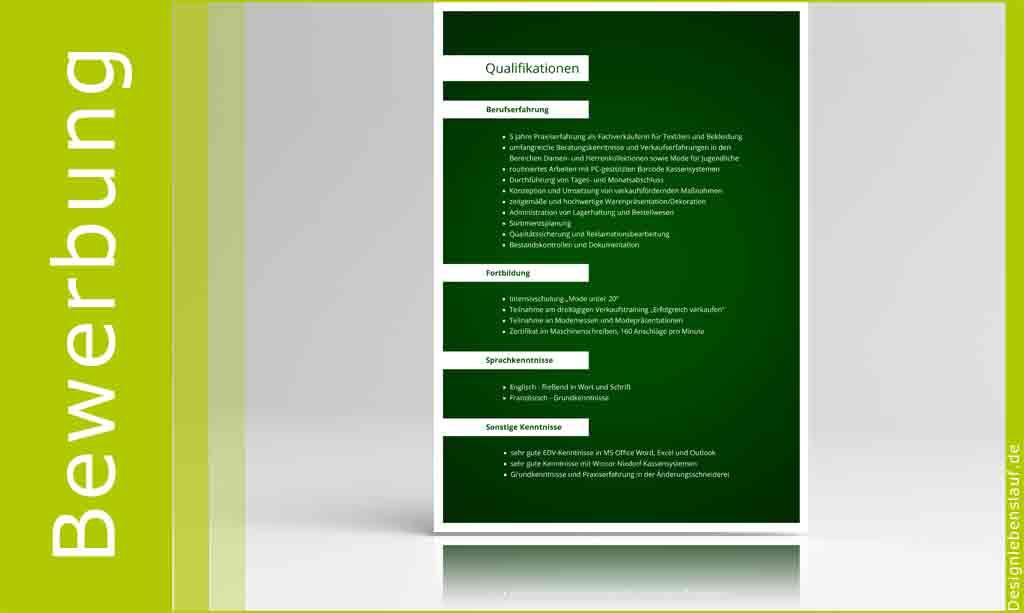 Bewerbung Deckblatt Mit Anschreiben Und Lebenslauf
