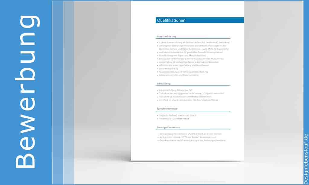 Bewerbung Bürokauffrau Mit Anschreiben Und Lebenslauf