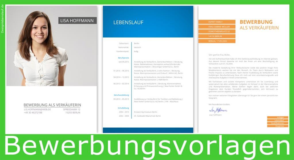 Bewerbung Layout Mit Word & Open Office Bearbeiten