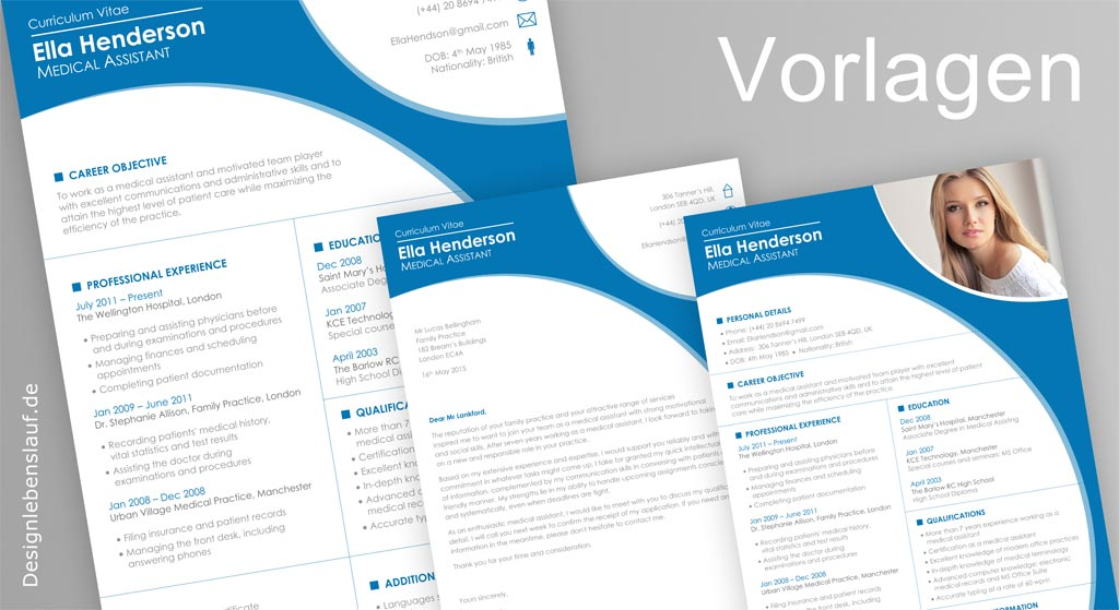 cv in english template