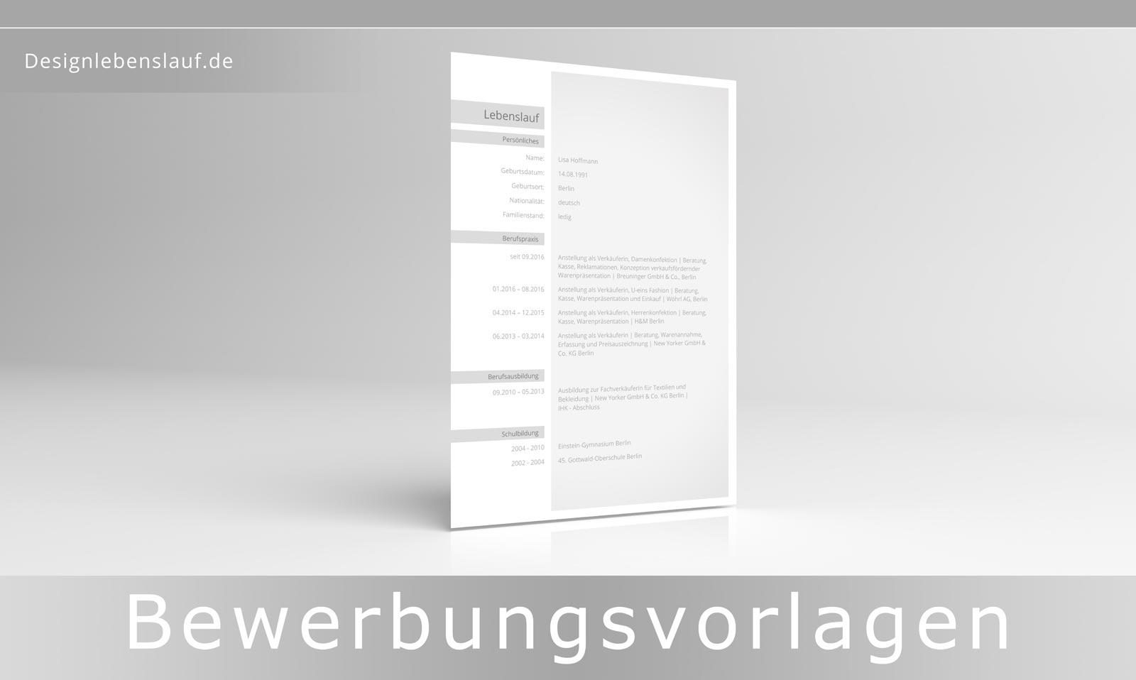 cv vorlage word - Bewerbungsanschreiben Muster 2014