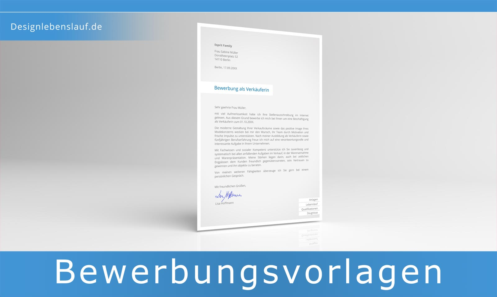 email bewerbung text