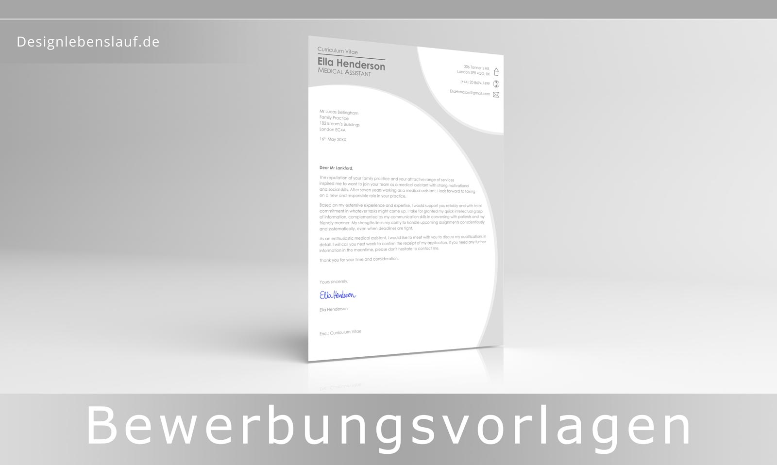Cv In English With Cover Letter Download Word Files