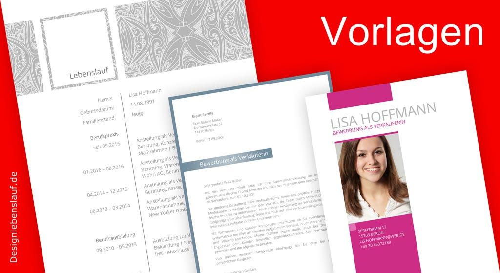 lebenslauf word vorlagen fr eine individuelle bewerbung cv templates ...