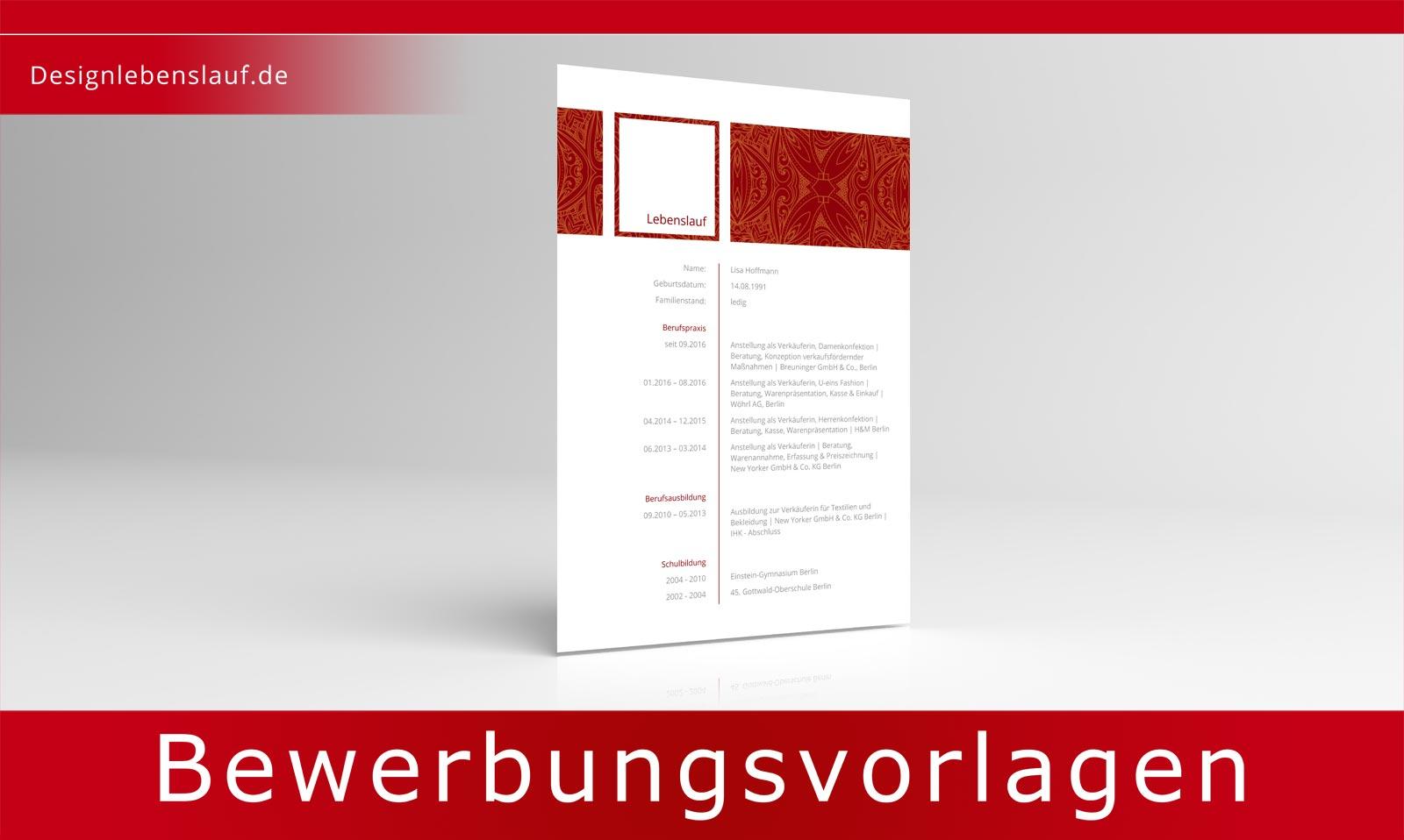Bewerbung Deckblatt Vorlagen Mit Anschreiben Lebenslauf