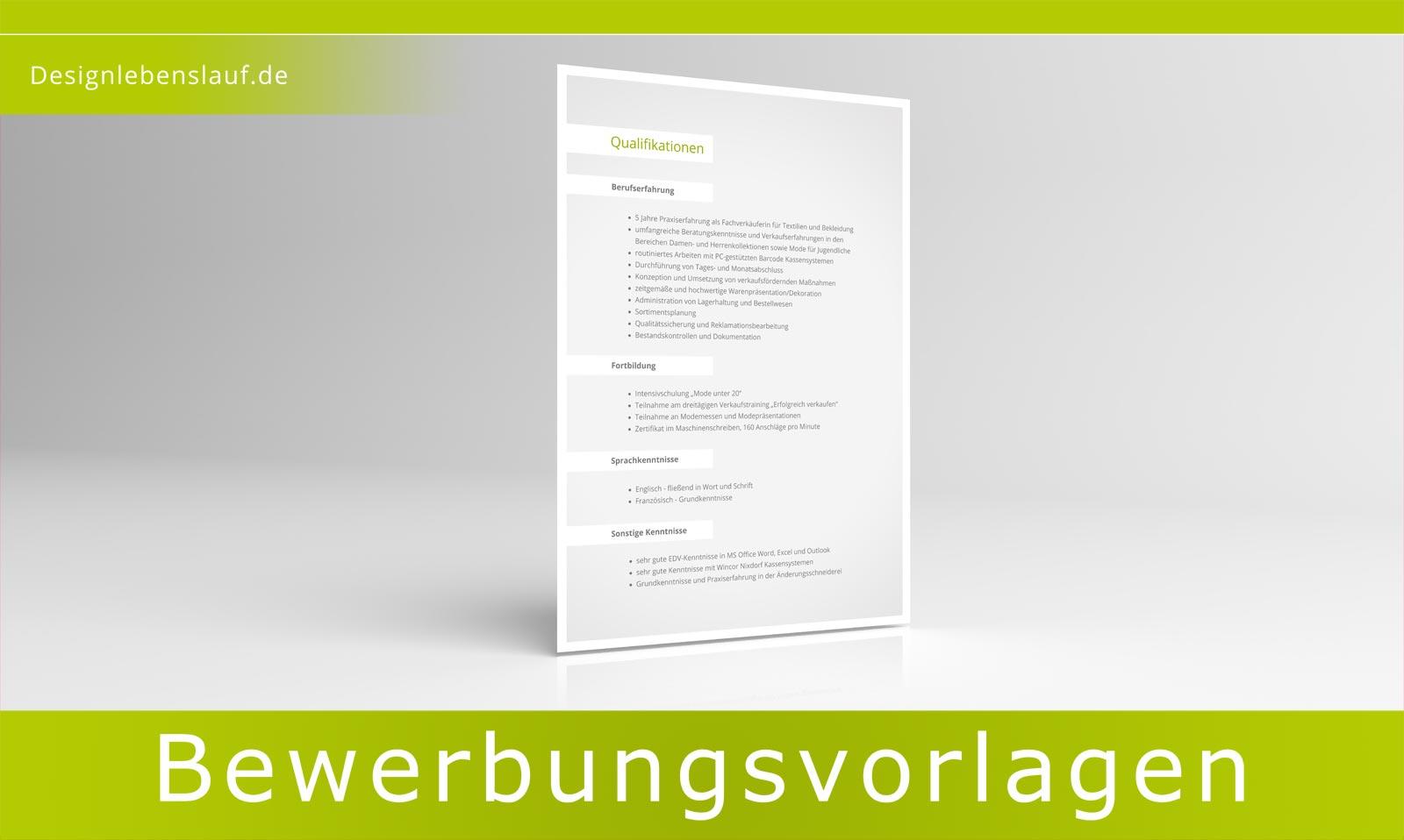 Bewerbung Vorlage Vom Designer Für Word & Freie Fice Software