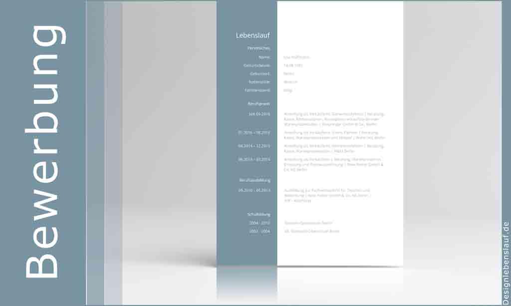 index of lebenslauf