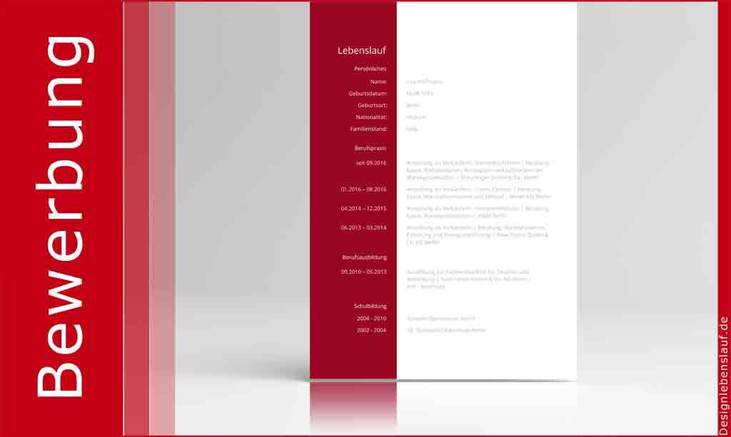 perfekter Lebenslauf zum Download für Word & Open Office