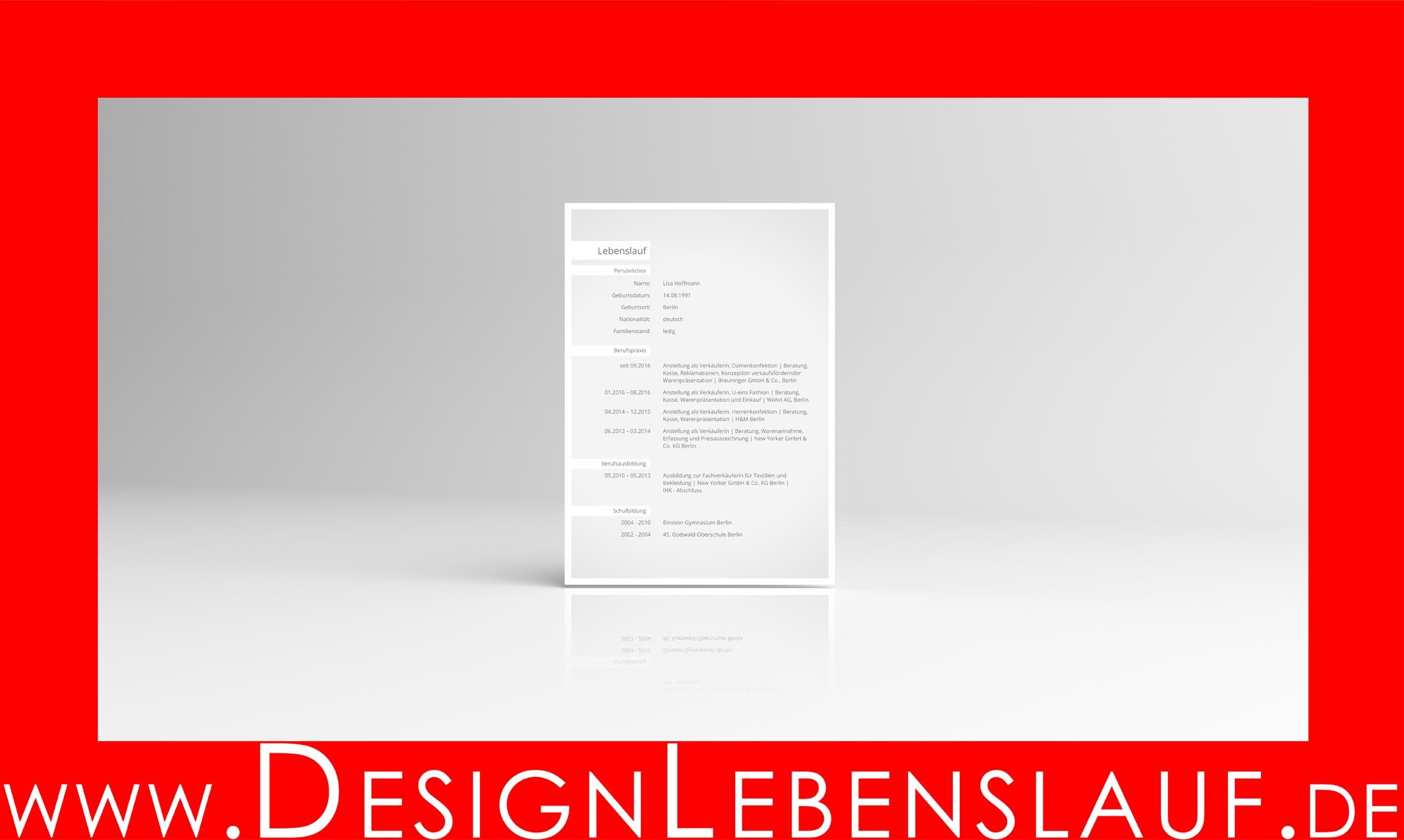 Musteranschreiben Bewerbung Lebenslauf Mit Deckblatt Zum Download