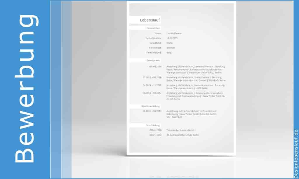 Initiativbewerbung Muster Mit Anschreiben Und Lebenslauf