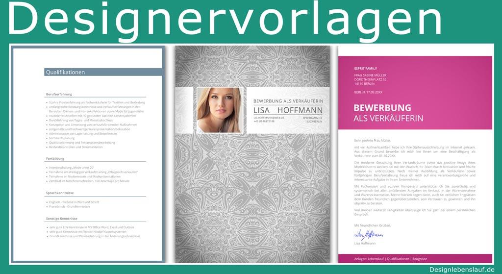 Deckblatt Bewerbung Muster Mit Anschreiben Und Lebenslauf
