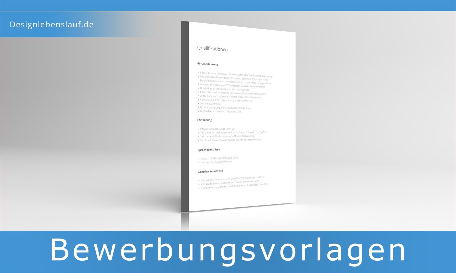 Lebenslauf Bewerbung Zum Sofortdownload In Word Open Office