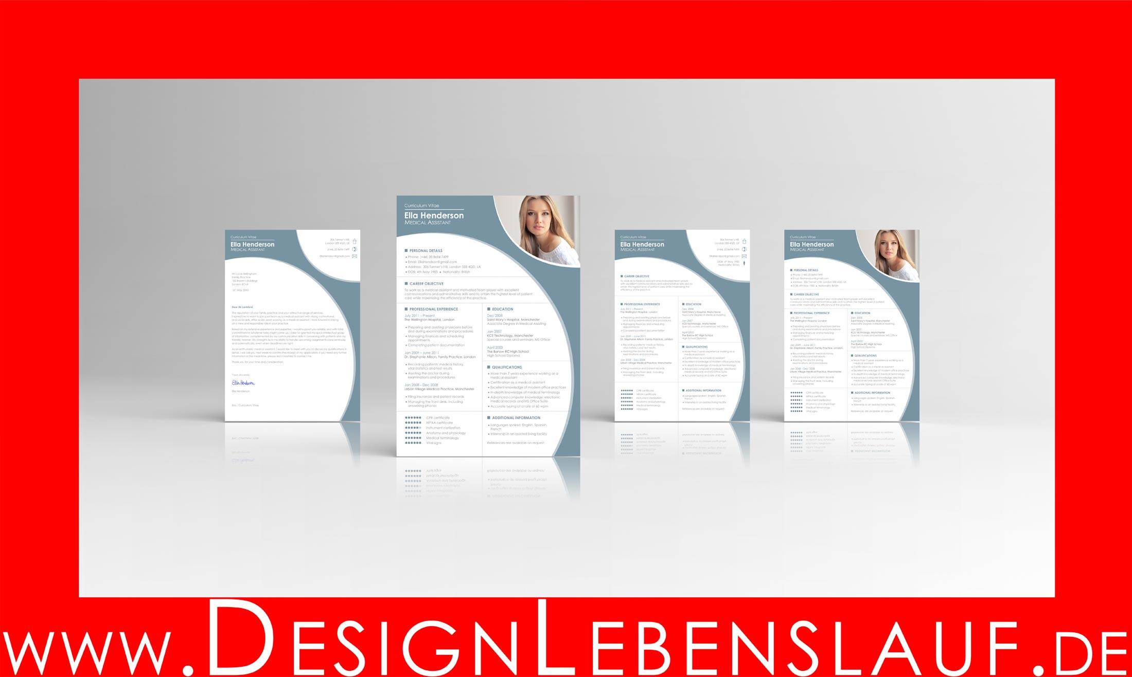 Lebenslauf Englisch Muster Mit Anschreiben Als Download