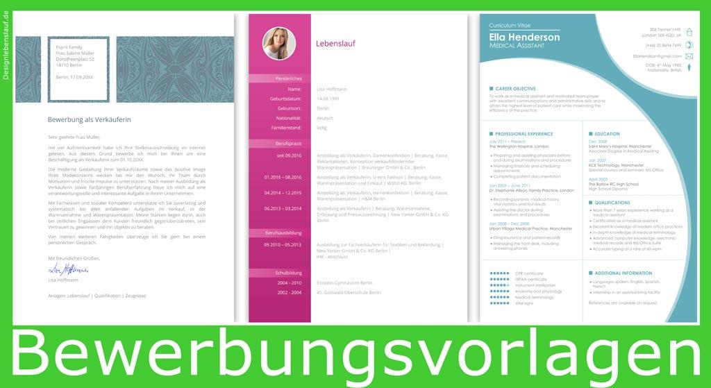Vorlage bewerbungsschreiben mit lebenslauf zum herunterladen for Praktikum design