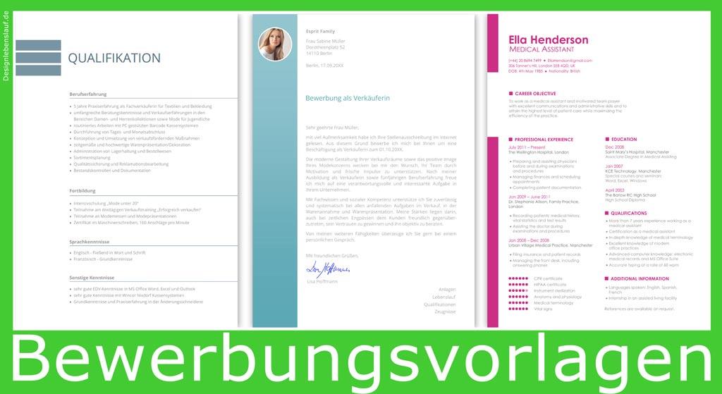 Bewerbungsschreiben Ausbildung Mit Lebenslauf Zum Download