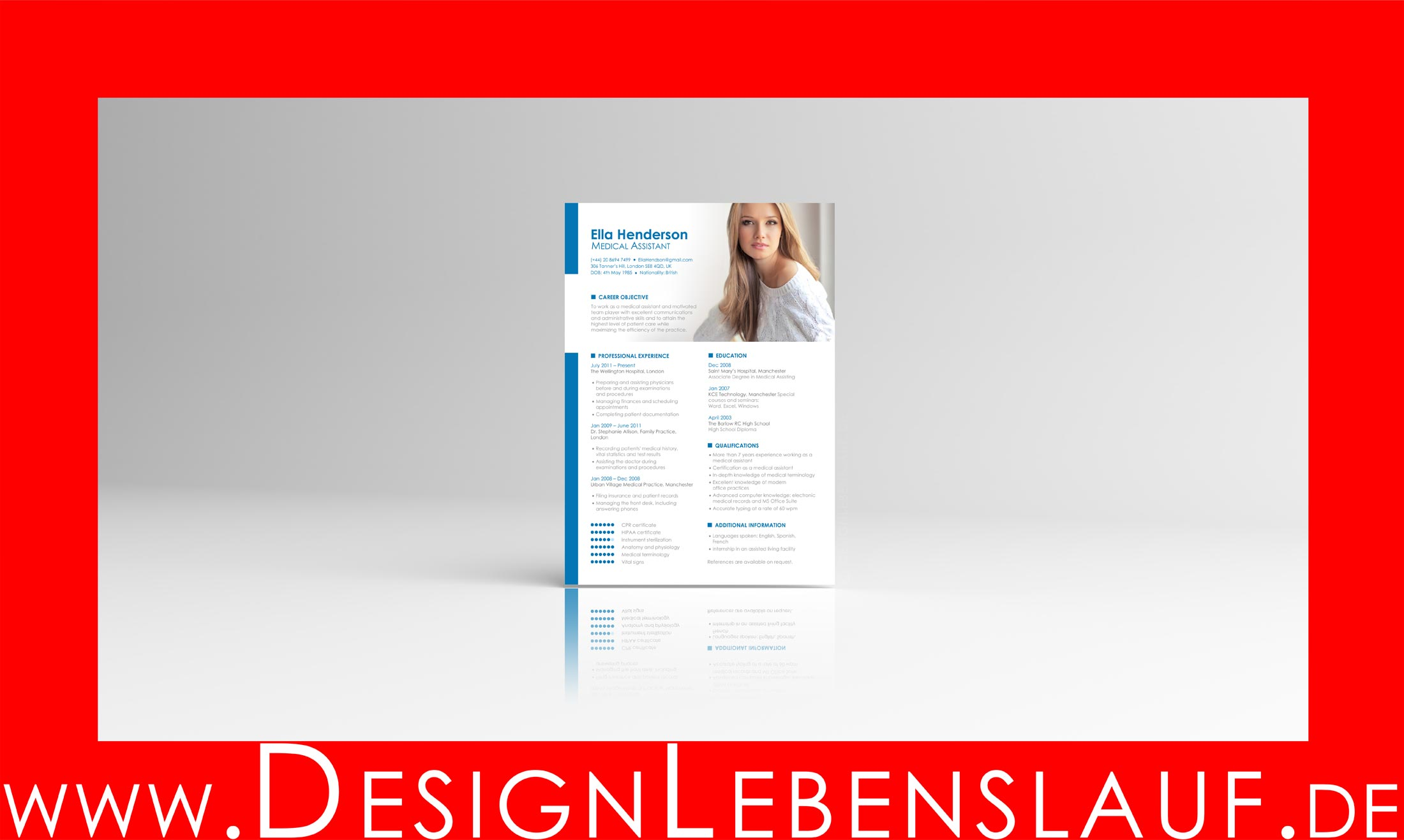 Nett Hohe Zahlen Lebenslauf Mit Business Management Degree Bilder ...