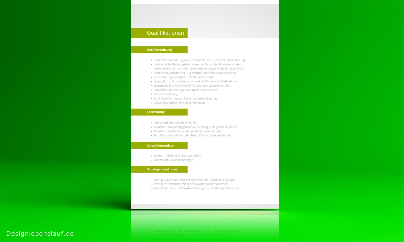 Ungewöhnlich Ms Excel Lebenslauf Vorlage Bilder - Entry Level Resume ...
